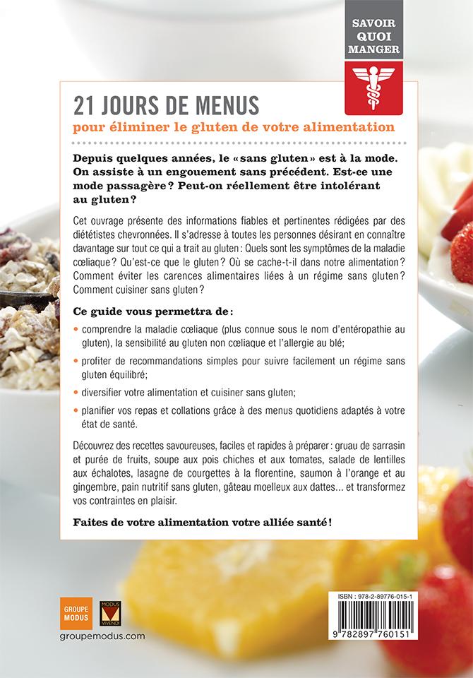 Savoir quoi manger – Sans gluten - Groupe Modus
