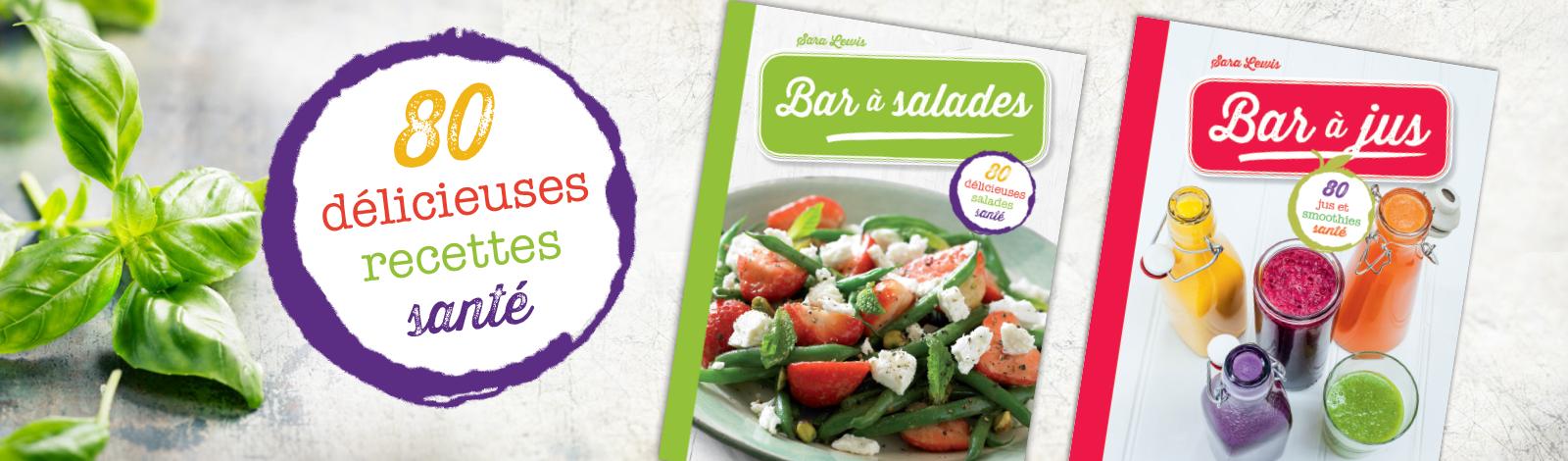 Bar à salade + bar à jus