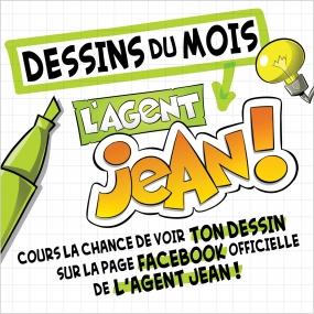 Concours de dessin L'Agent Jean