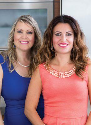 Elisabeth Cerqueira et Marise Charron, nutritionnistes, Dt. P.