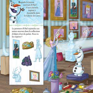 La reine des neiges - cherche et trouve