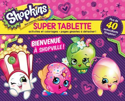 tablette activités shopkins