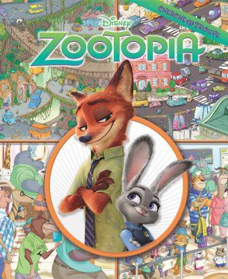 zootopia cherche et trouve