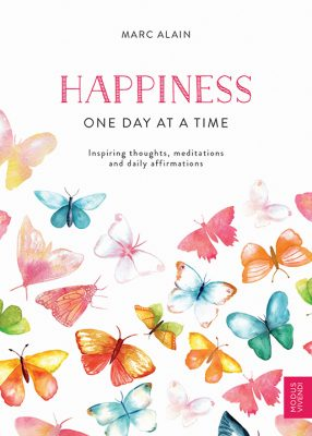 Marc Alain's Happiness - One day at a time ranked No. 3 on The Bestsellers List
