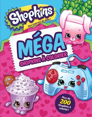 shopkins à colorier