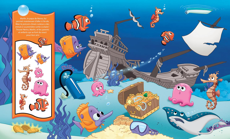 Trouver nemo et trouver doris mon premier cherche et - Nemo et doris ...