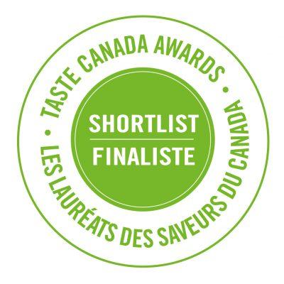 Finalistes aux Taste Canada Awards / Les Saveurs du Canada