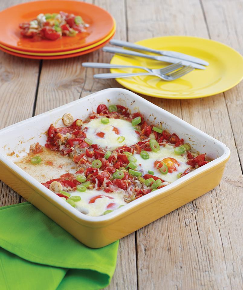 Cuisine du monde pour petits et grands - Oeufs à la mexicaine