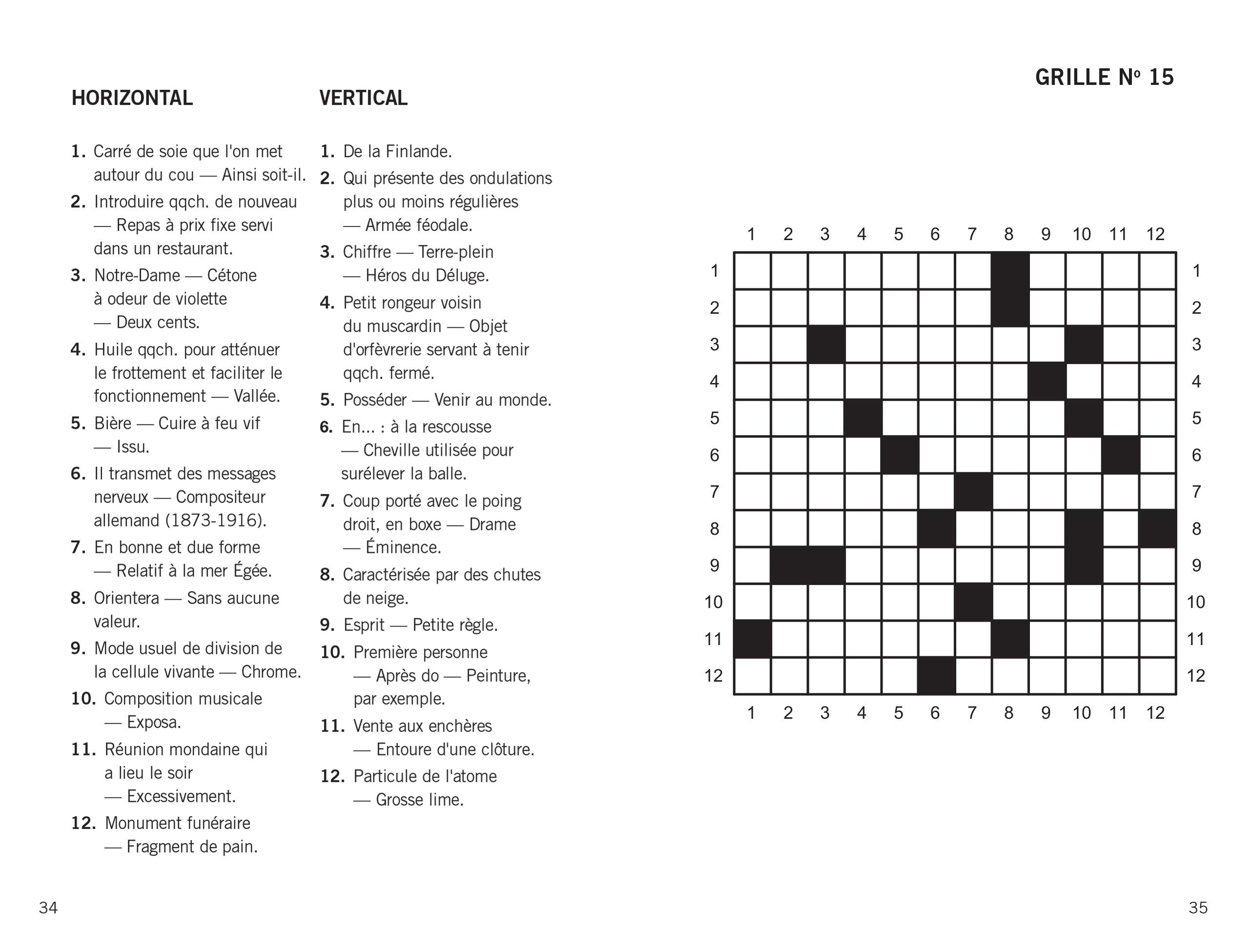 J 39 aime mots crois s groupe modus - Grilles mots croises a imprimer ...