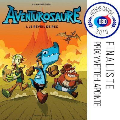 Aventurosaure - Finaliste Bédéis Causa