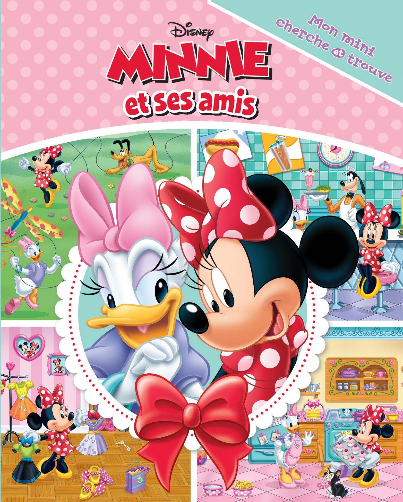 Mon Mini Cherche Et Trouve Minnie Et Ses Amis
