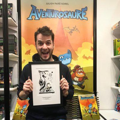 Aventurosaure remporte le prix de la meilleure BD jeunesse québécoise