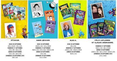 Presses Aventure au Salon du livre du Saguenay-Lac-Saint-Jean 2019