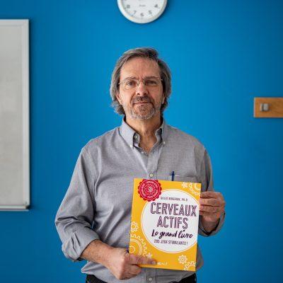 Entrevue avec Gilles Bergeron, auteur de Cerveaux actifs — Le grand livre