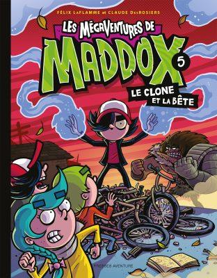 Les Mégaventures de Maddox, tome 5 : le clone et la bête