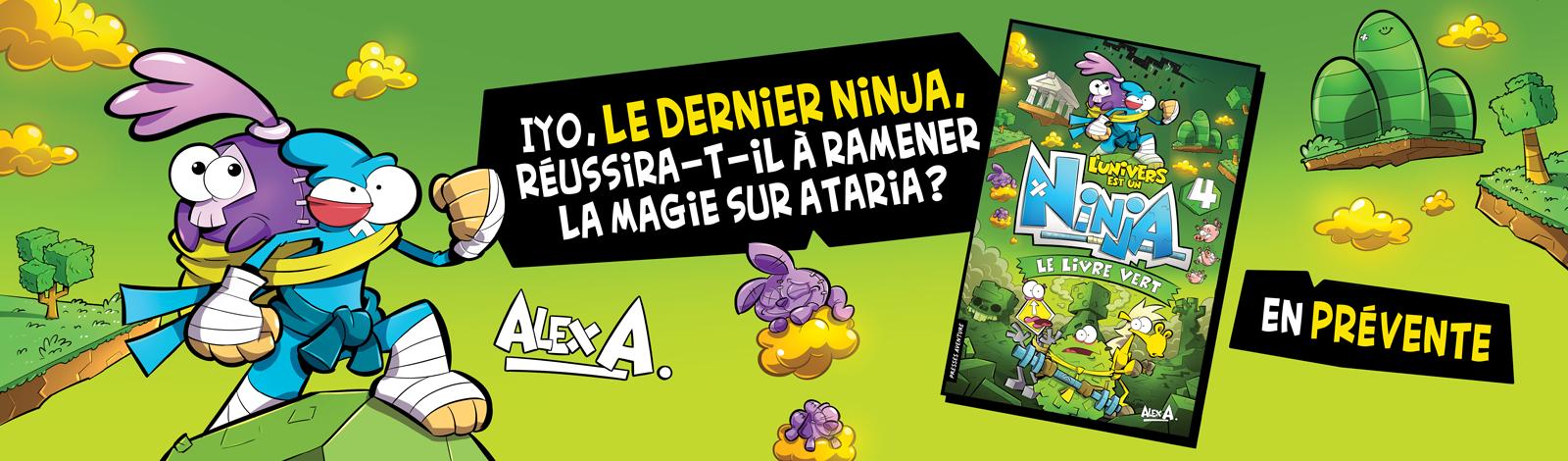 L'Univers est un Ninja, tome 4 : Le livre vert