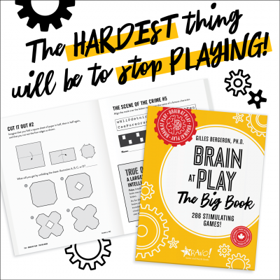 Interview with Gilles Bergeron, author of Brain at Play — The Big Book